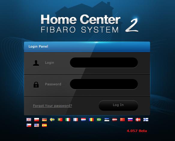 การเปลี่ยนรหัสผ่านของ Home Center – Change Password